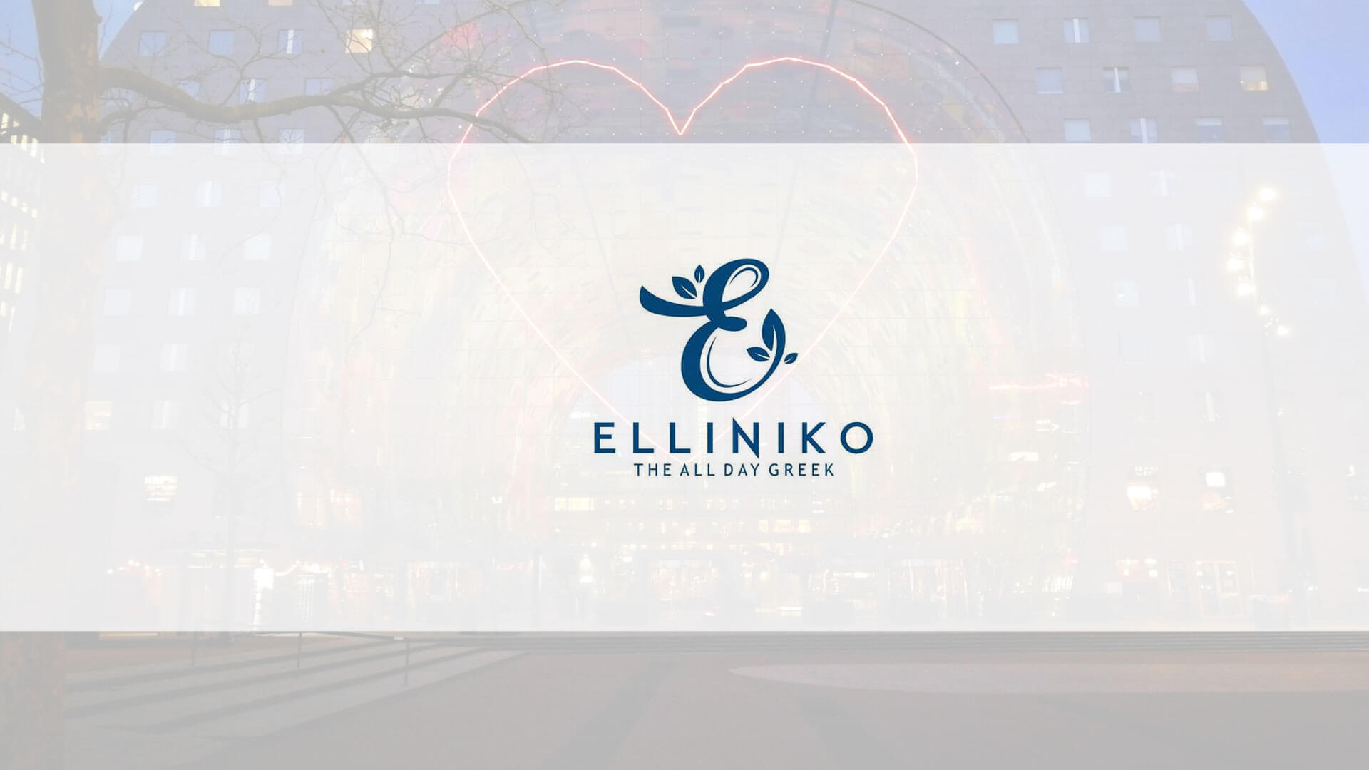 Elliniko – The all day Greek
